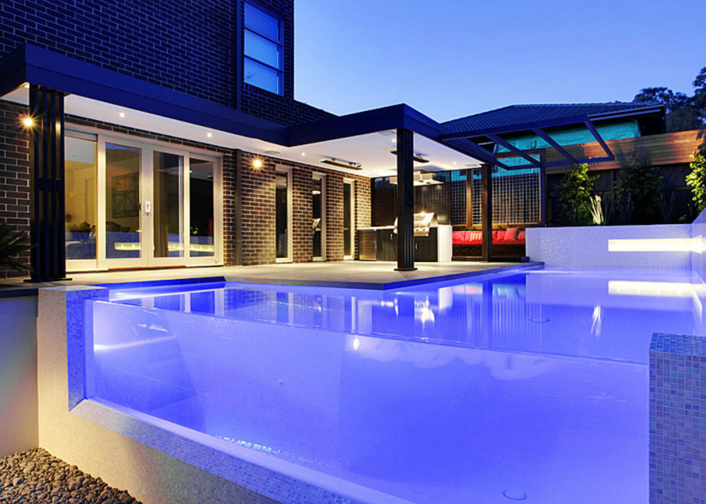 real estate image editing remove pool cleaners from water